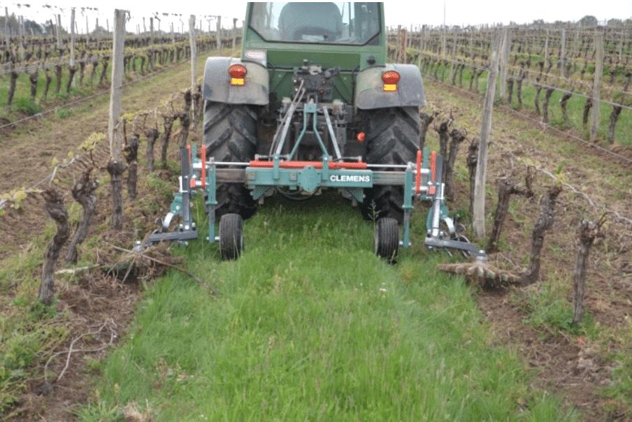 déherbage mécanique viticulture biologique