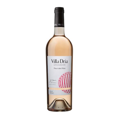 Vin rosé des côtes de Gascogne Villa Dria