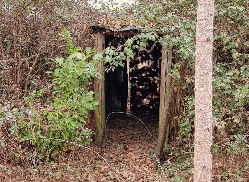 entrée de tunnel de palombière